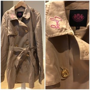 Juicy Couture Girls Trench